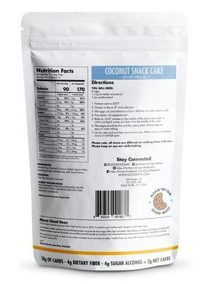 Good Dee's - Low Carb Baking Mix - Coconut Snack Cake - 9.2 oz
