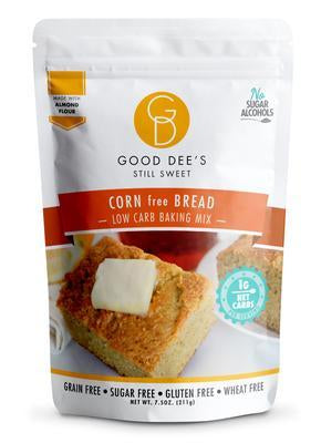 Good Dee's - Low Carb Baking Mix - Corn free Bread - 7.5 oz