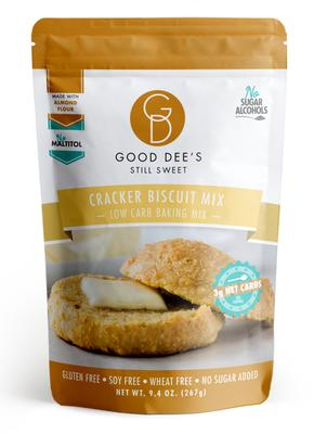 Good Dee's - Low Carb Baking Mix - Cracker Biscuit Mix - 9.4 oz