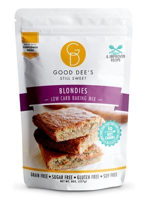 Good Dee's - Low Carb Baking Mix - Blondies - 8 oz
