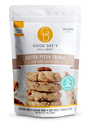 Good Dee's - Low Carb Baking Mix - Butter Pecan Cookie - 8.75 oz