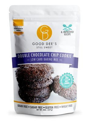 Good Dee's - Low Carb Baking Mix - Double Chocolate Chip Cookie - 8 oz