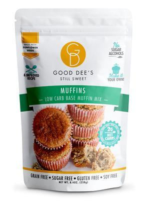 Good Dee's - Low Carb Base Muffin Mix - 8.4 oz