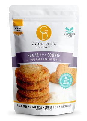 Good Dee's - Low Carb Baking Mix - Sugar free Cookie - 8 oz