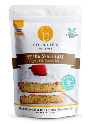 Good Dee's - Low Carb Baking Mix - Yellow Snack Cake - 9.3 oz