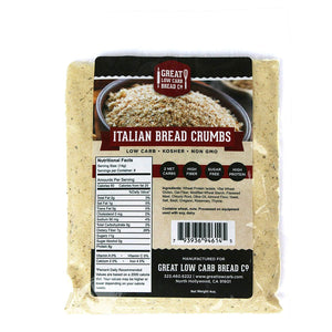 Great Low Carb Bread Company - Bread Crumbs - Italian flavour - 4 oz bag