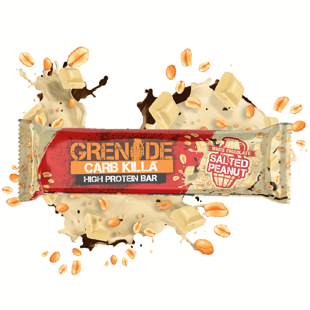 Grenade - Carb Killa - White Chocolate Salted Peanut - 1 Bar