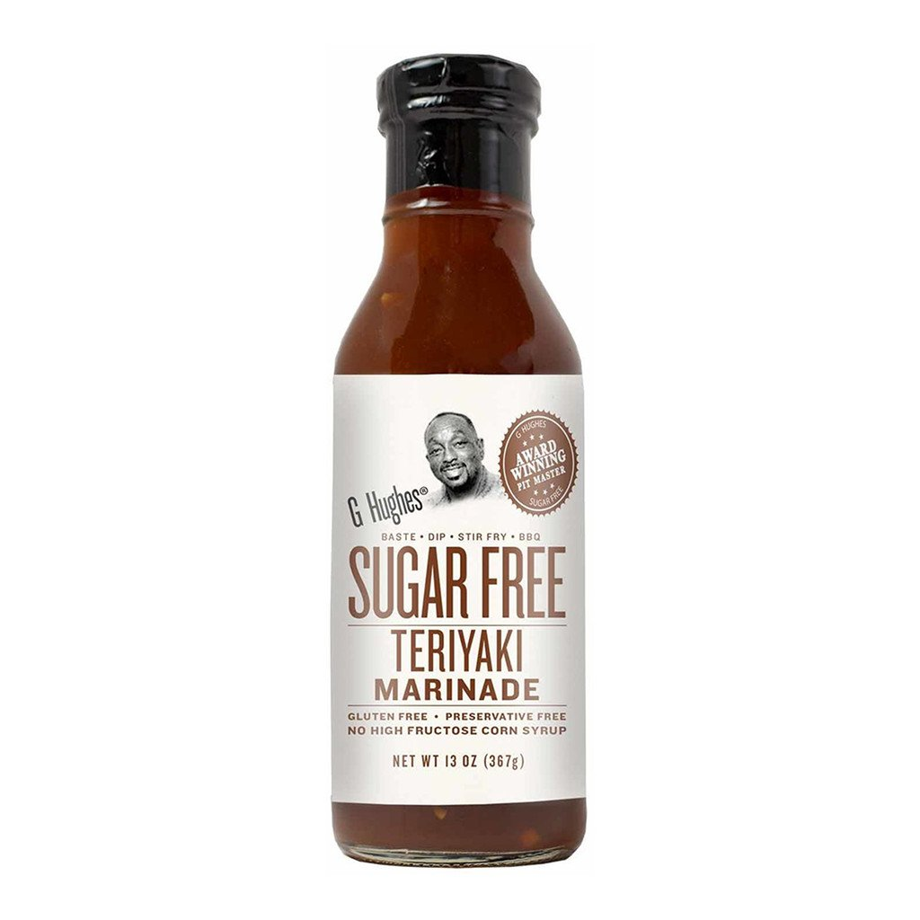G Hughes Smokehouse - Sugar Free Marinade - Teriyaki - 13 oz.