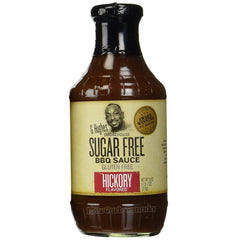 G Hughes Smokehouse - Sugar Free BBQ Sauce - Hickory - 18 oz. - Low Carb Canada