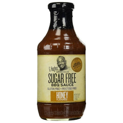 G Hughes Smokehouse - Sugar Free BBQ Sauce - Honey - 18 oz. - Low Carb Canada