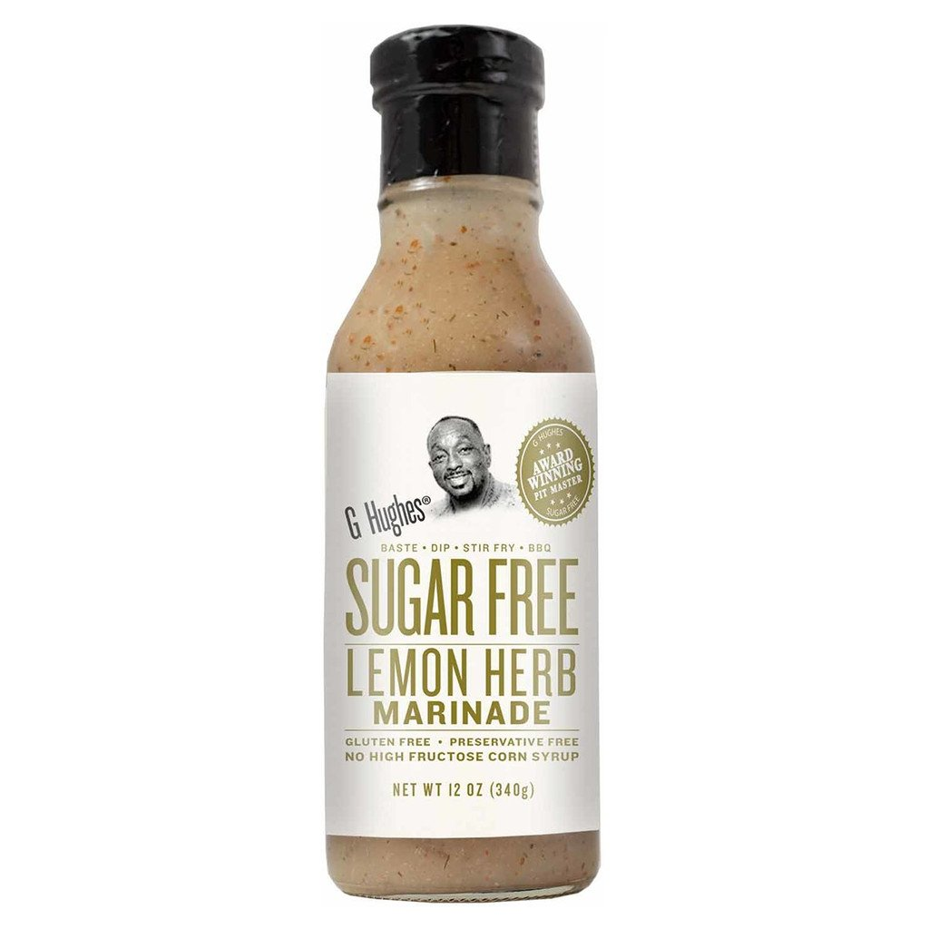 G Hughes Smokehouse - Sugar Free Marinade - Lemon Herb - 13 oz.