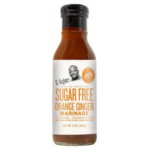G Hughes Smokehouse - Sugar Free Marinade - Orange Ginger - 13 oz.
