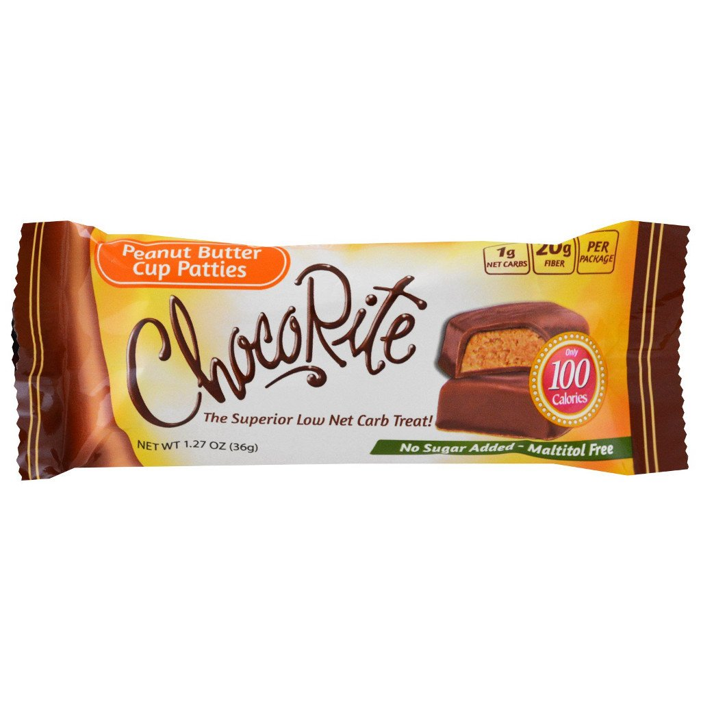 Healthsmart - ChocoRite Cups - Peanut Butter Cup Patties - 36 g