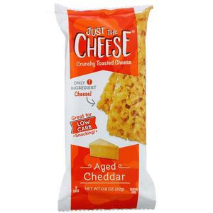 Just the Cheese - Crunchy Baked Cheese Bars - Aged Cheddar Flavor
