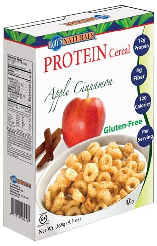 Kay's Naturals - Protein Cereal - Apple Cinnamon - 9.5oz - Low Carb Canada