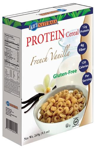 Kay's Naturals - Protein Cereal - French Vanilla - 9.5oz - Low Carb Canada