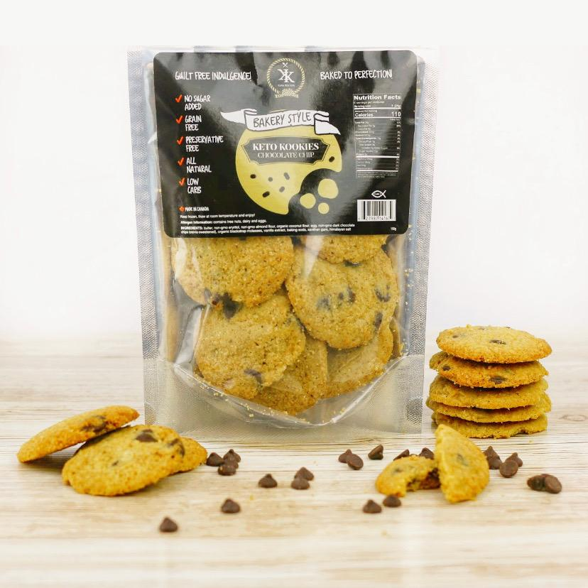 Smart Kookies - Bakery Style Keto Cookies - Chocolate Chip