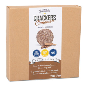 KZ Clean Eating - Crackers - Cinnamon