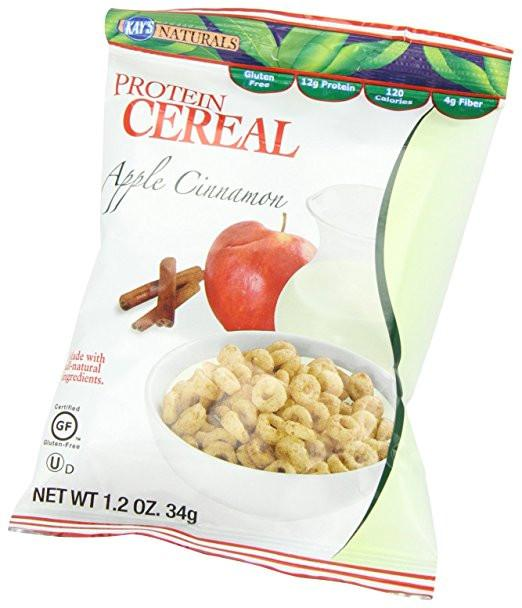Kay's Naturals - Protein Cereal - Apple Cinnamon - 1.2oz - Low Carb Canada