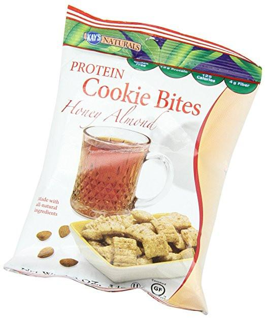 Kay's Naturals - Cookie Bites - Honey Almond - 1.2oz - Low Carb Canada