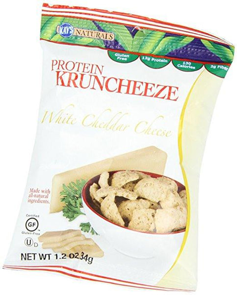 Kay's Naturals - Kruncheeze - White Cheddar - 1.2oz - Low Carb Canada