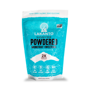 Lakanto - Sugar Free Powdered Monkfruit Sweetener with Erythritol - 16 oz