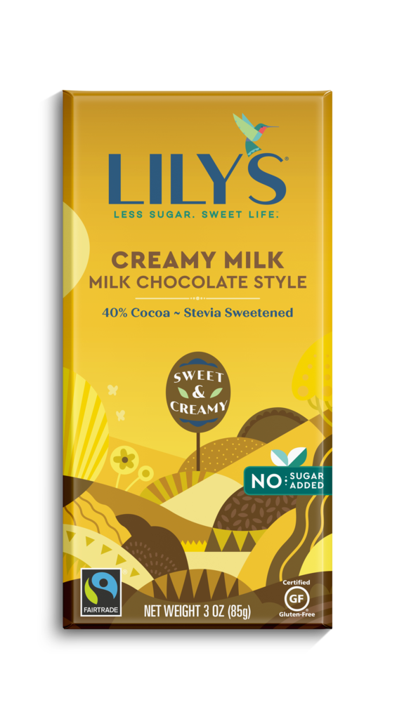 Lily's - Milk Chocolate Bars - Creamy Milk 40% - 85 g