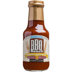 Nature's Hollow - BBQ Sauce - Honey Mustard -10 oz