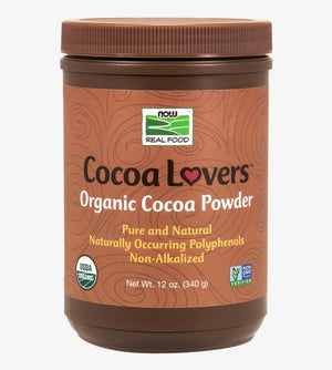NOW - Organic Cocoa Powder - 12 oz