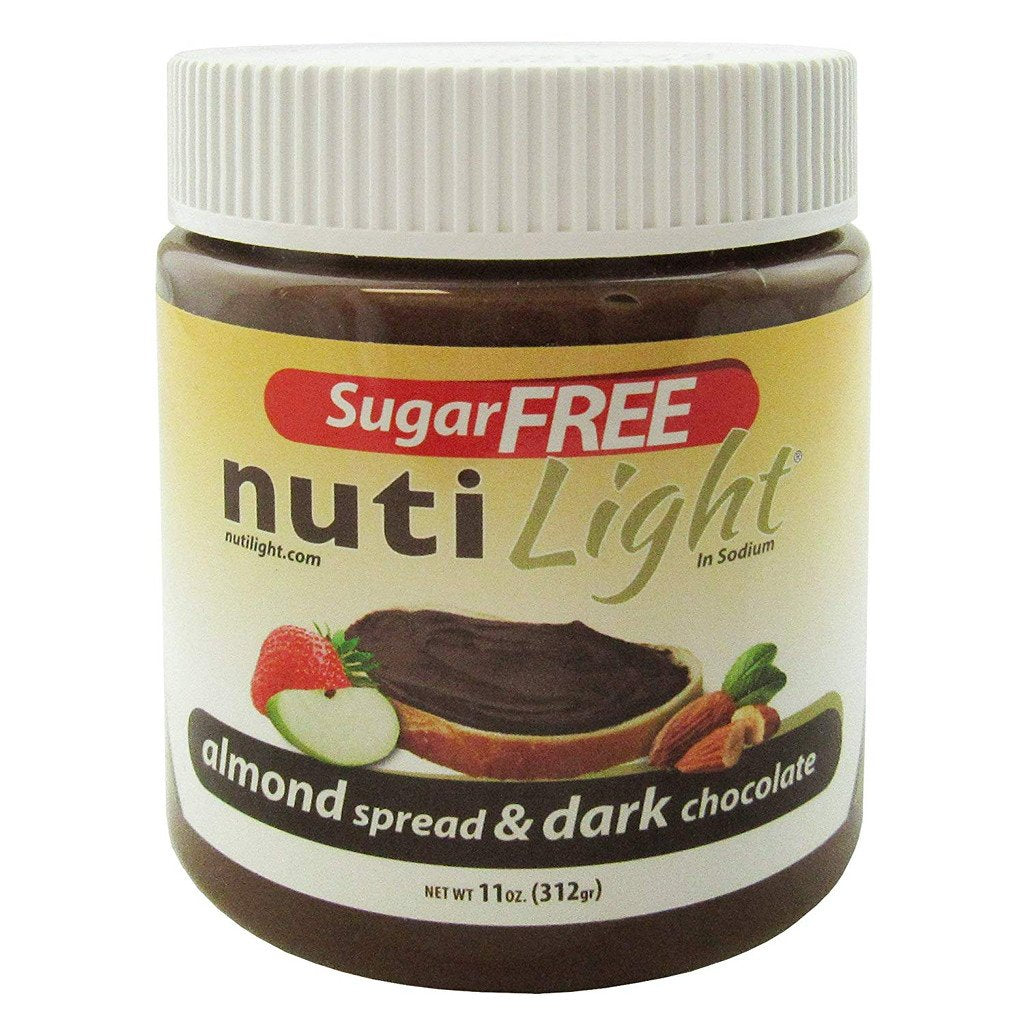 NutiLight - Sugar Free - Almond and Dark Chocolate - 11 oz