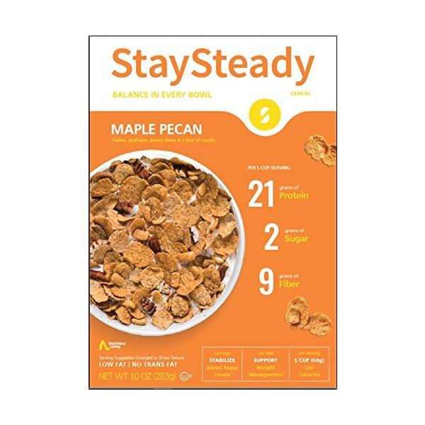 Nutritious Living - StaySteady Cereal - Maple Pecan