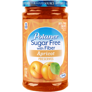 Polaner - Sugar Free Jam with Fiber - Apricot - 13.5 oz - Low Carb Canada