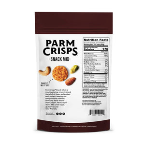 ParmCrisps - Keto Friendly Snack Mix - Smoky Barbecue - 6oz