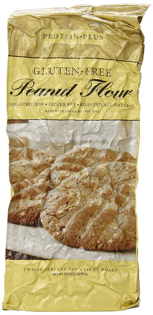 Protein Plus - Peanut Flour - 2 lb bag