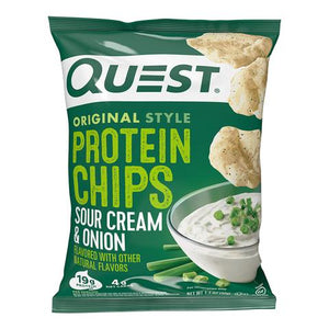 Quest Protein Chips - Sour Cream and Onion - 1 Bag
