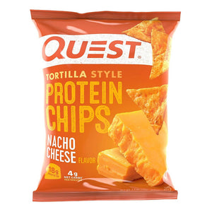 Quest Tortilla Style Protein Chips - Nacho Cheese - 1 Bag