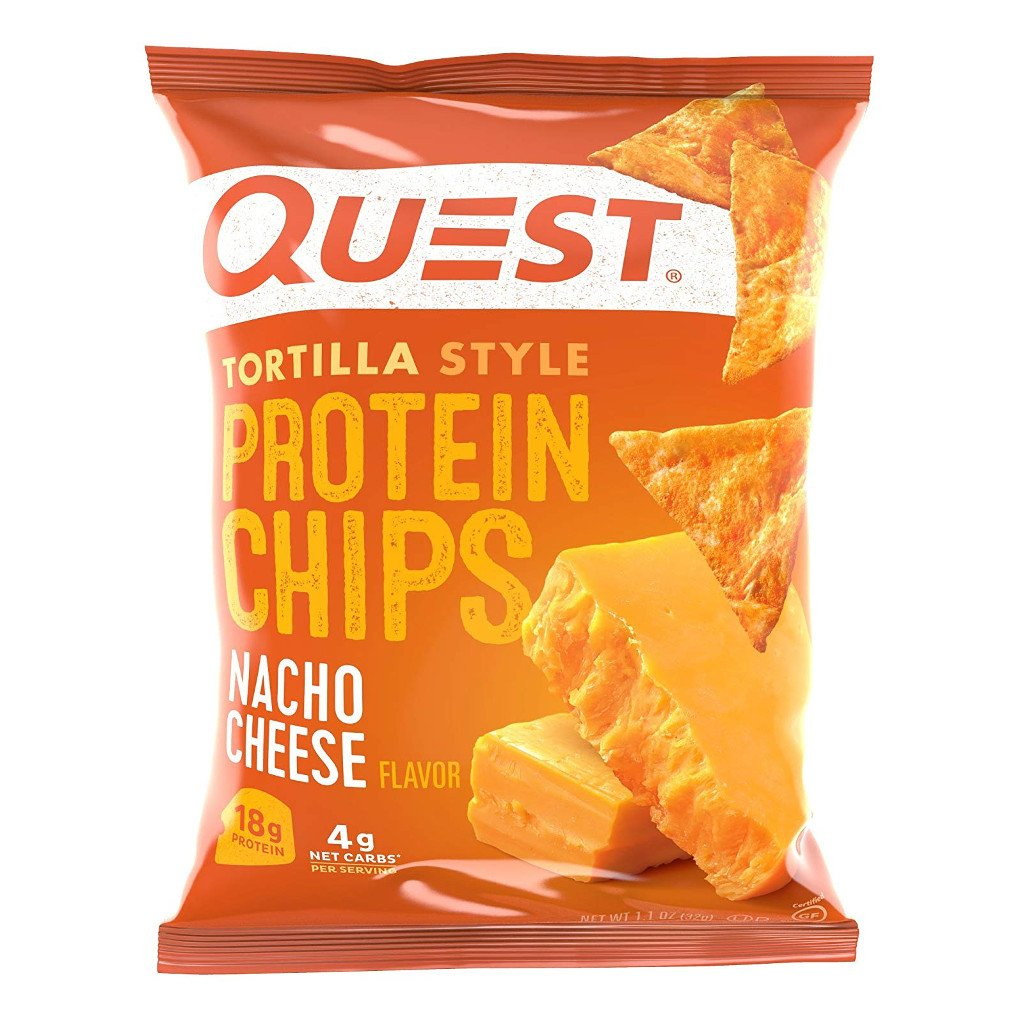 Quest Nutrition - Tortilla Style Protein Chips - Nacho Cheese