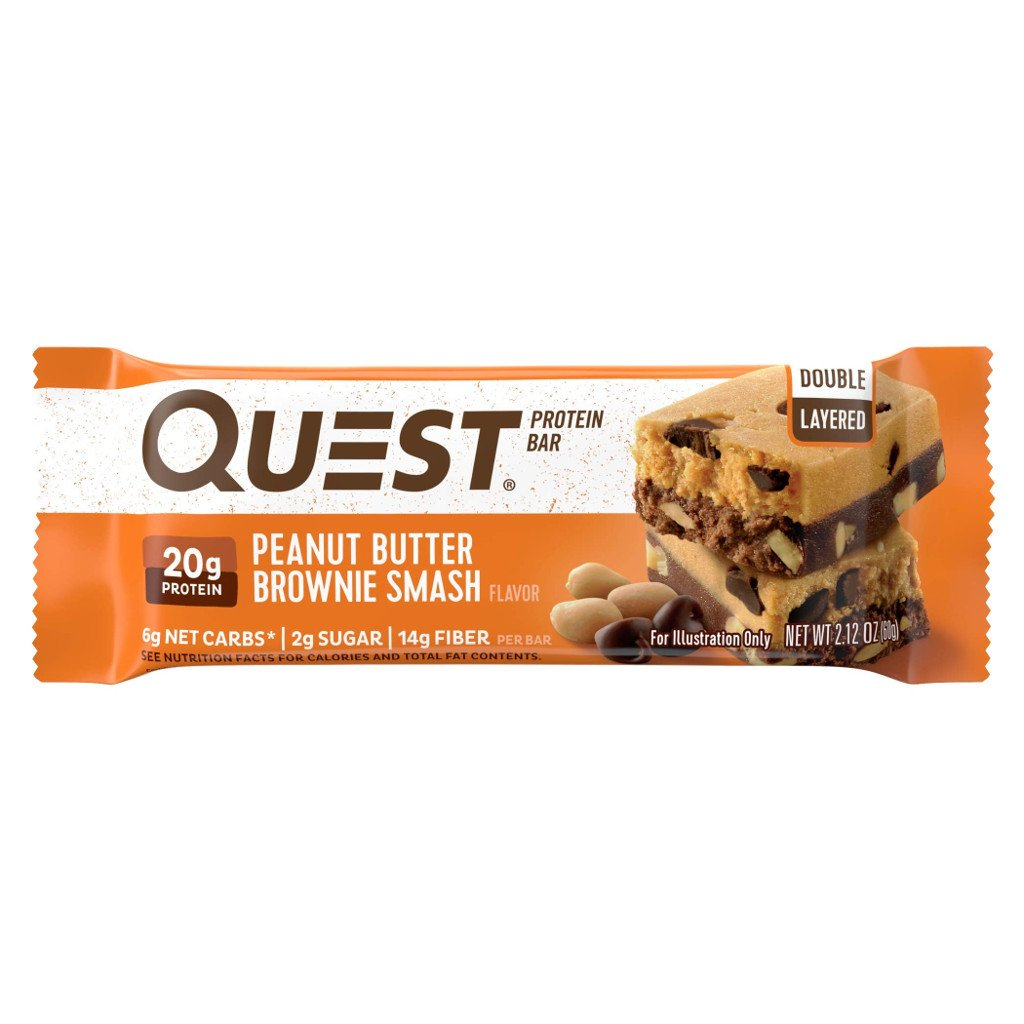 Quest Nutrition - Quest Bar - Peanut Butter Brownie Smash - 1 Bar