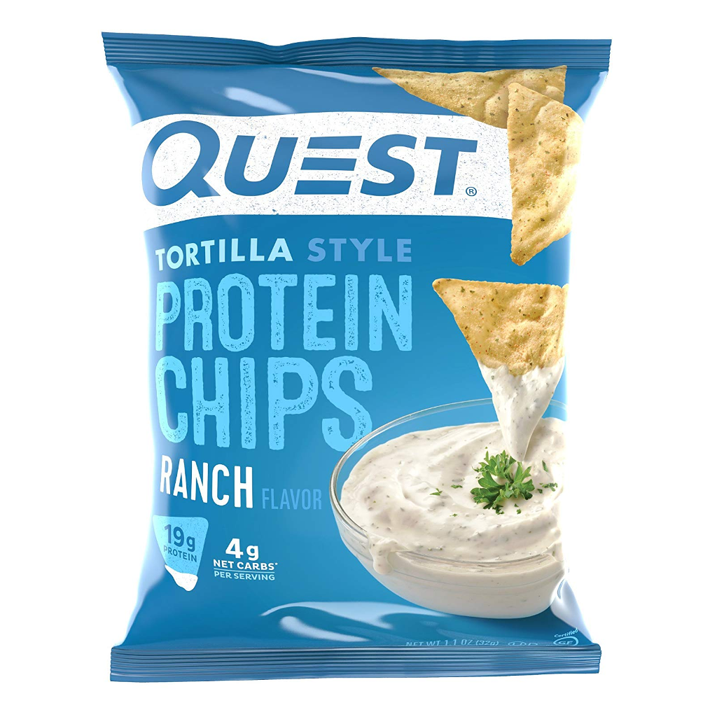 Quest Nutrition - Tortilla Style Protein Chips - Ranch