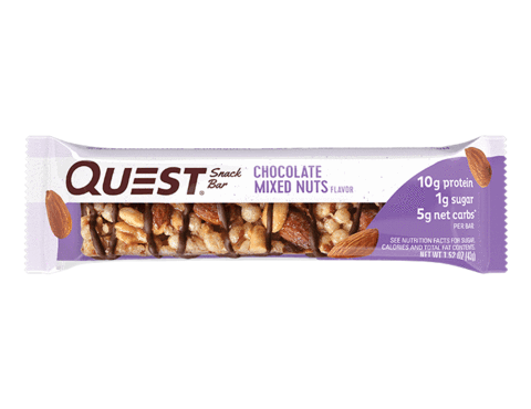 Quest Snack Bar - Chocolate Mixed Nuts