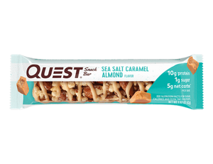 Quest Snack Bar - Sea Salt Caramel Almond