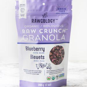 Rawcology - Raw Crunch Granola - Blueberry with Acai - 7 oz bag