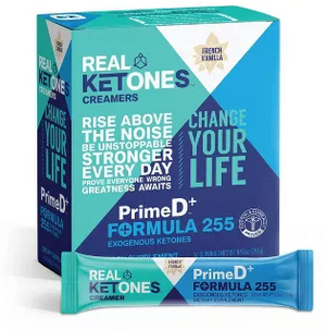 Real Ketones - Creamer with BHB+MCT - French Vanilla - 16 Servings