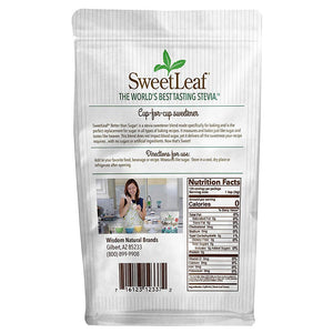 SweetLeaf - Better Than Sugar! - Stevia Blend for Frosting - Powdered - 12.7 oz
