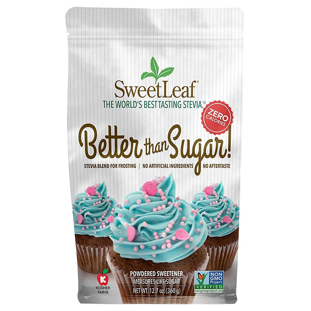 SweetLeaf - Better Than Sugar! Stevia Blend for Frosting - Powdered - 12.7 oz