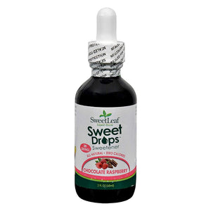 SweetLeaf - Liquid Stevia - Chocolate Raspberry - 2 fl oz