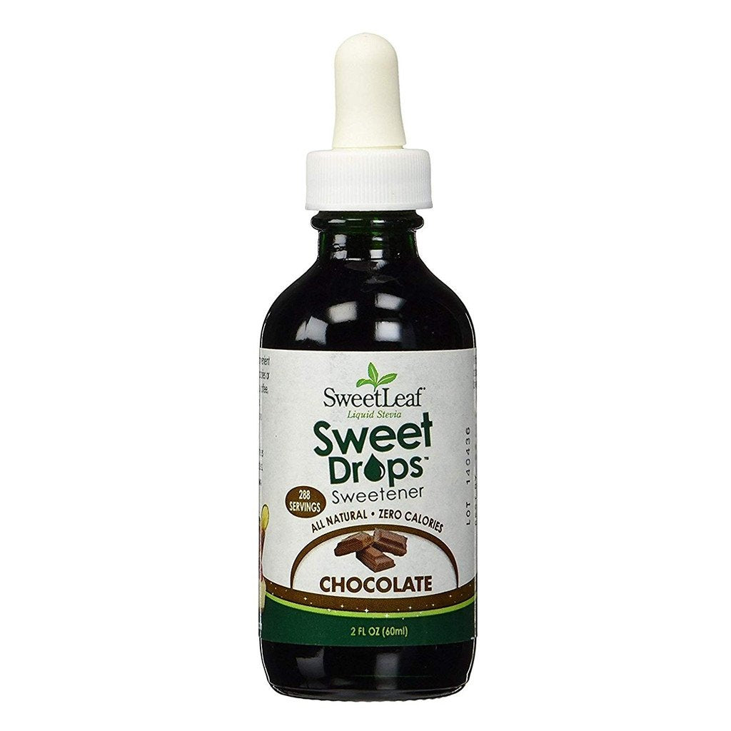 SweetLeaf - Liquid Stevia - Chocolate - 2 fl oz