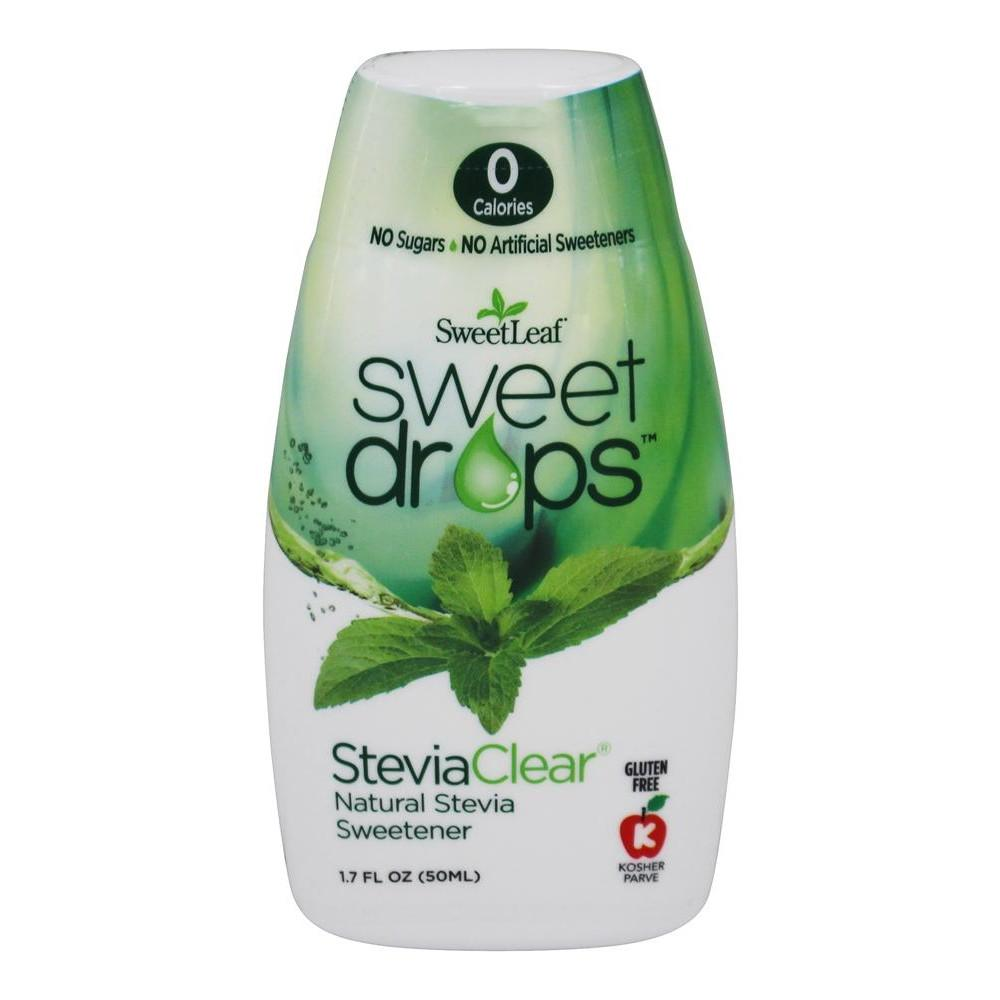 SweetLeaf - Sweet Drops Liquid Stevia - SteviaClear - 1.7 oz