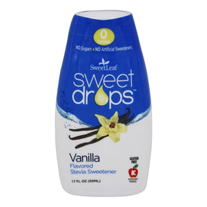 SweetLeaf - Sweet Drops Liquid Stevia - Vanilla - 1.7 oz