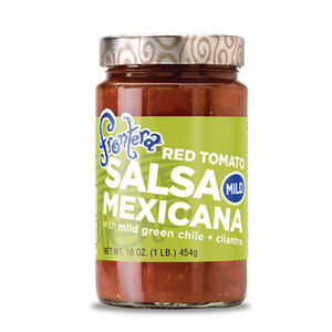 Frontera Salsa - Mexicana with mild green chile + cilantro - Mild - 16 oz
